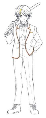 Towa veste una divisa maschile pur essendo una ragazza