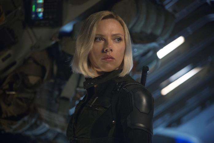 Black Widow nei film degli Avengers