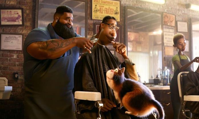 Il personaggio di Dez è il barbiere di Soul