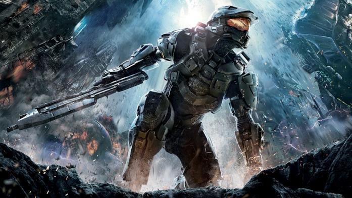 Master Chief sulla cover di Halo 4