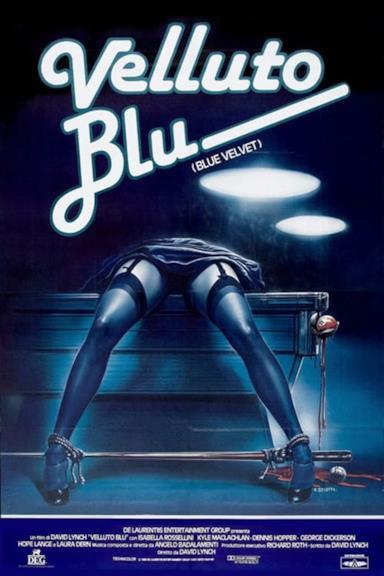 Poster Velluto Blu