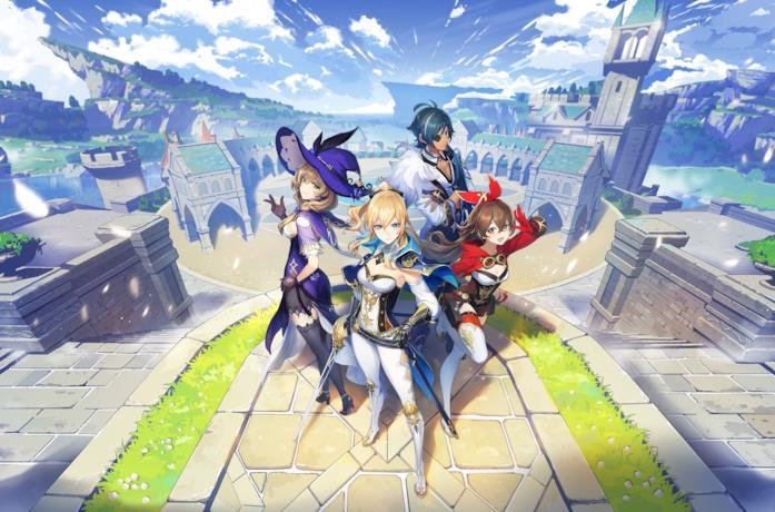Gli eroi giocabili di Genshin Impact