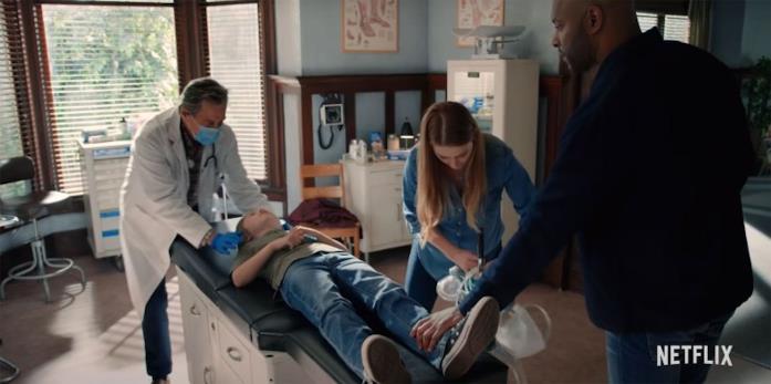 Doc e Mel si prendono cura di Christopher in Virgin River 3