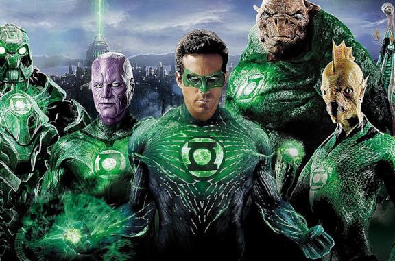 Ryan Reynolds in Lanterna Verde