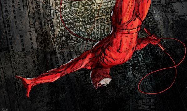 Dettaglio della cover di Daredevil #36