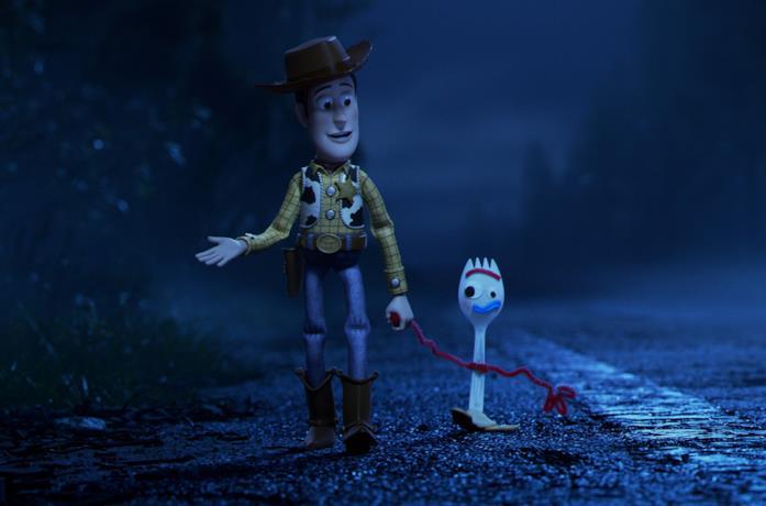 Woody e Fork