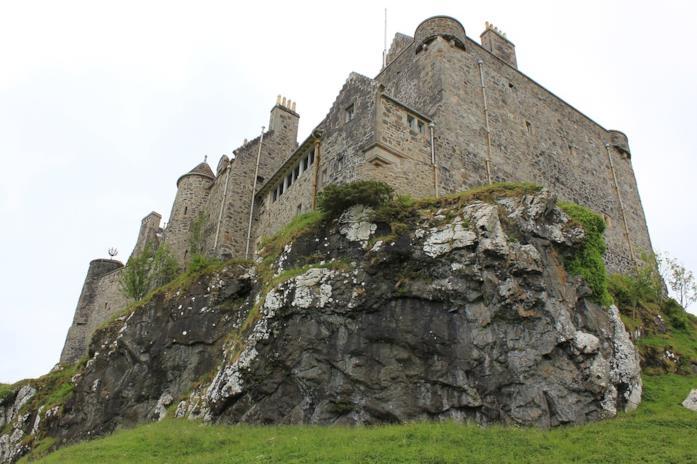 Duart Castle in Scozia