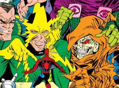 Cover di Amazing Spider-Man #337