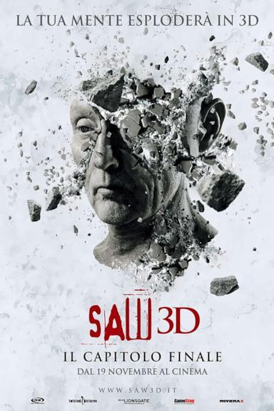 Poster Saw 3D - Il capitolo finale