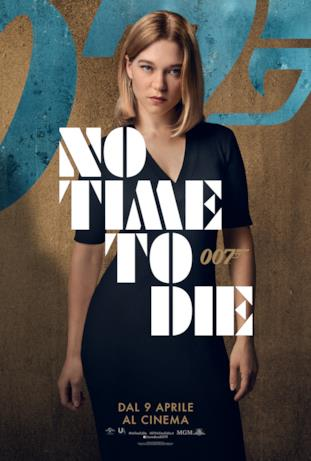 Léa Seydoux - poster di No Time To Die