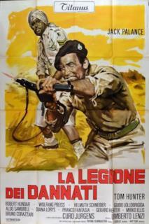 Poster La legione dei dannati