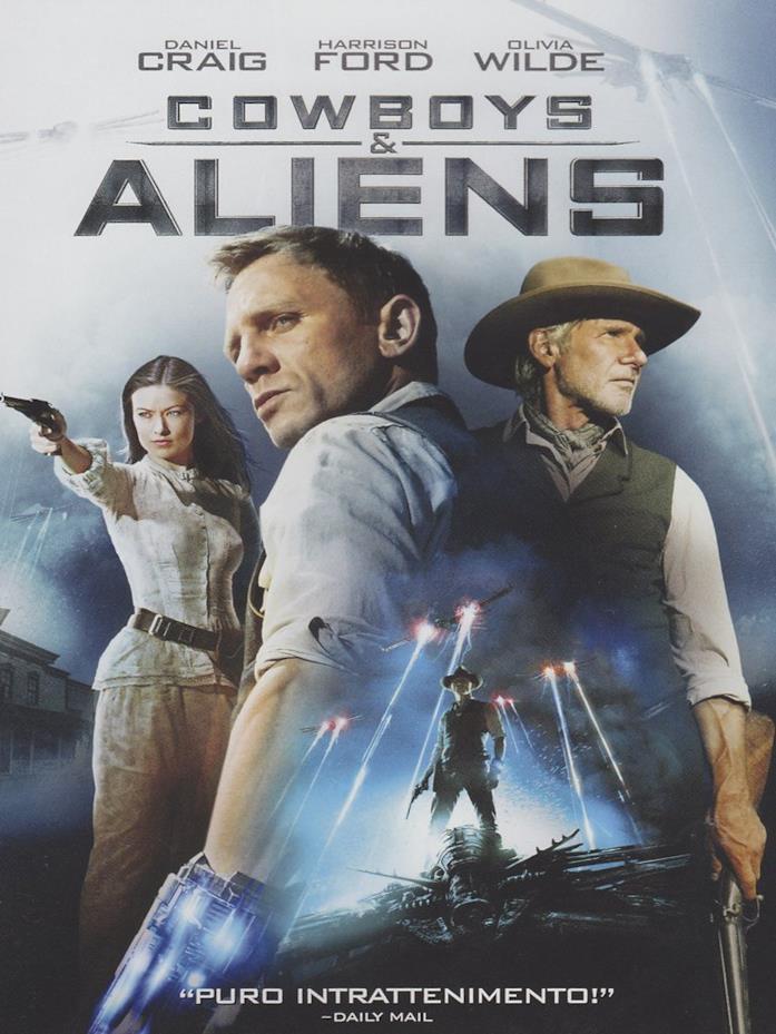 La locandina di Cowboy and Aliens