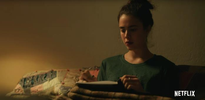 Margaret Qualley scrive in MAID