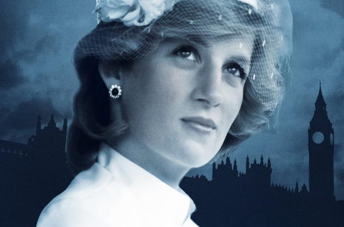 Un'immagine di Diana nel documentario The Story of Diana