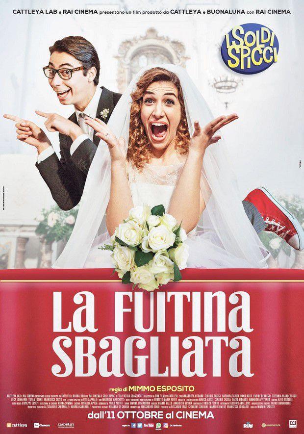 Annandrea Vitrano e Claudio Casisa nel poster de La fuitina sbagliata