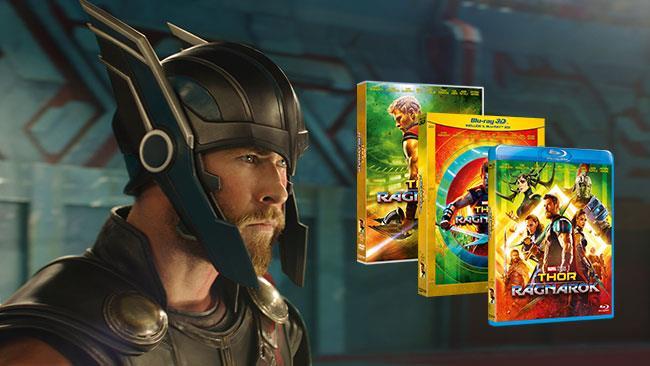 Thor: Ragnarok sarà disponibile in diverse versioni Home Video