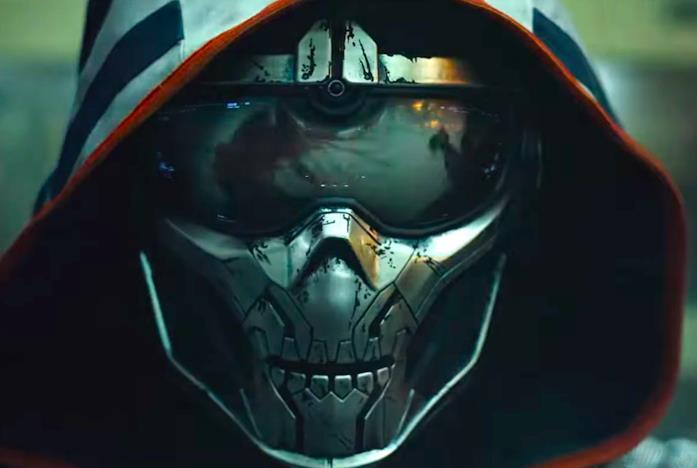 Il volto da scheletro di Taskmaster