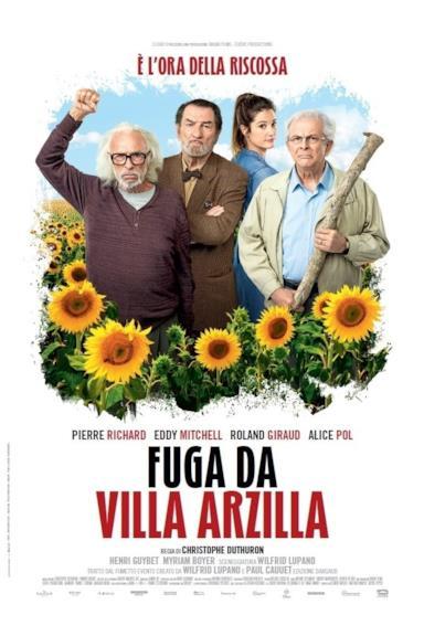 Poster Fuga da Villa Arzilla