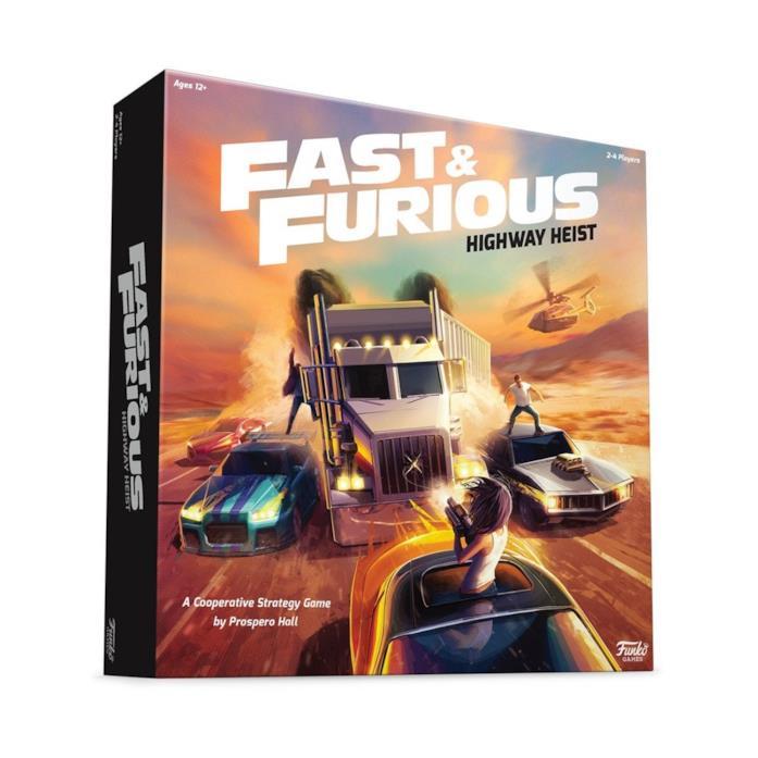 la scatola del gioco Fast & Furious: Highway Heist