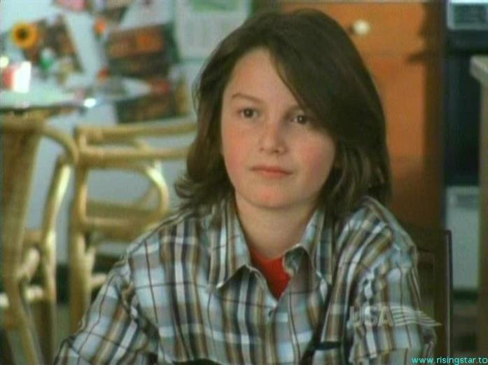 Benky, il figlio di Sharona in Detective Monk
