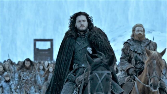 Kit Harington e Kristofer Hivju in Game of Thrones