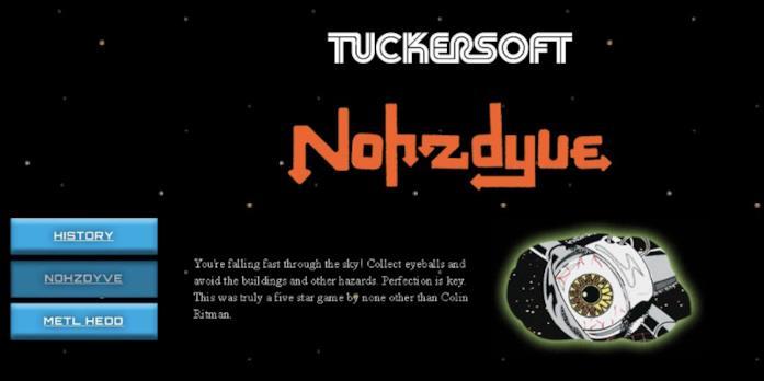 Nohzdyve può essere gicato solo ed esclusivamente con l'ausilio di un emulatore di ZX Spectrum