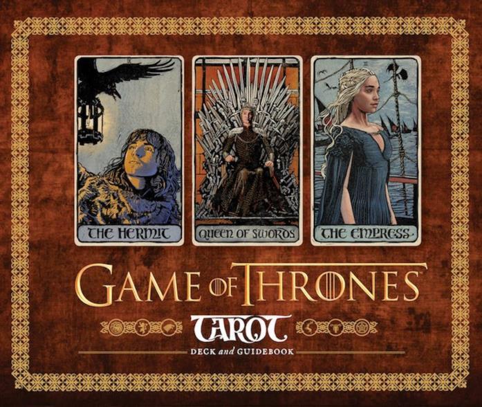 Le carte dell'Eremita, della Regina di Spade e dell'Imperatrice nei tarocchi di Game of Thrones