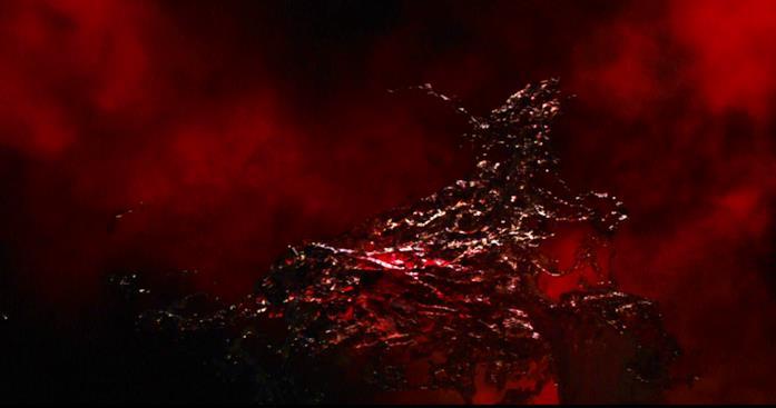 L'Aether in una scena di Thor: The Dark World