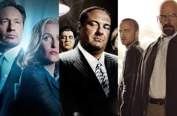 Immagini da X-Files, Mad Men e Friends