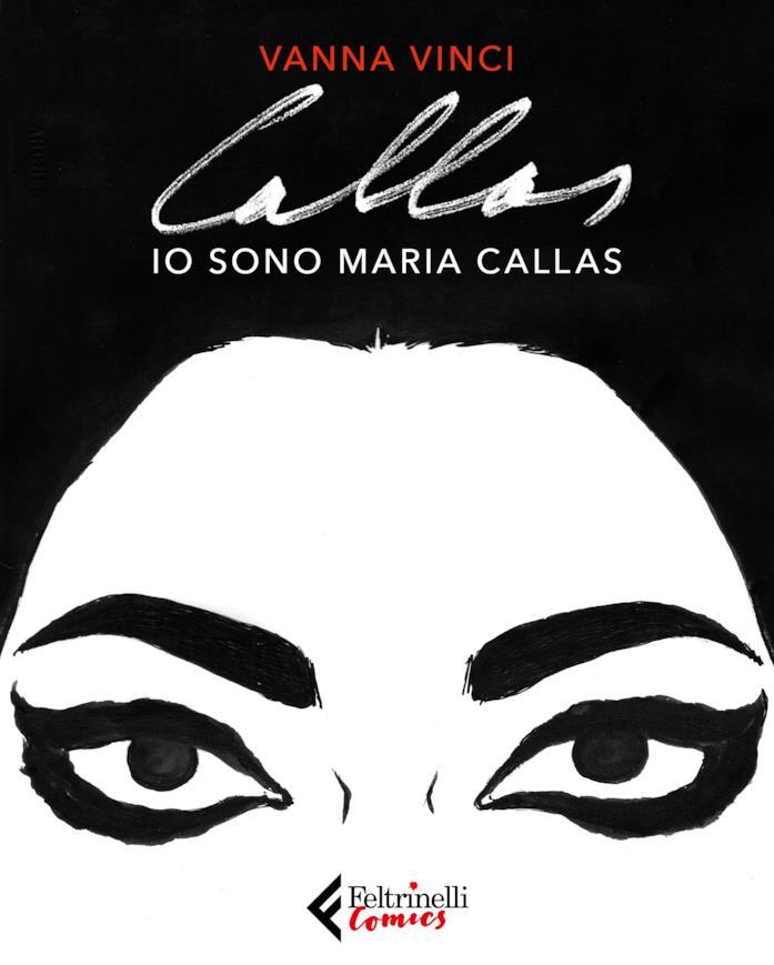 La copertina di Io sono Maria Callas
