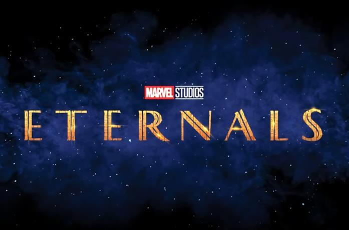 Eternals: il logo aggiornato del film Marvel