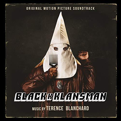 Copertina dell'album con le musiche di BlacKkKlansman