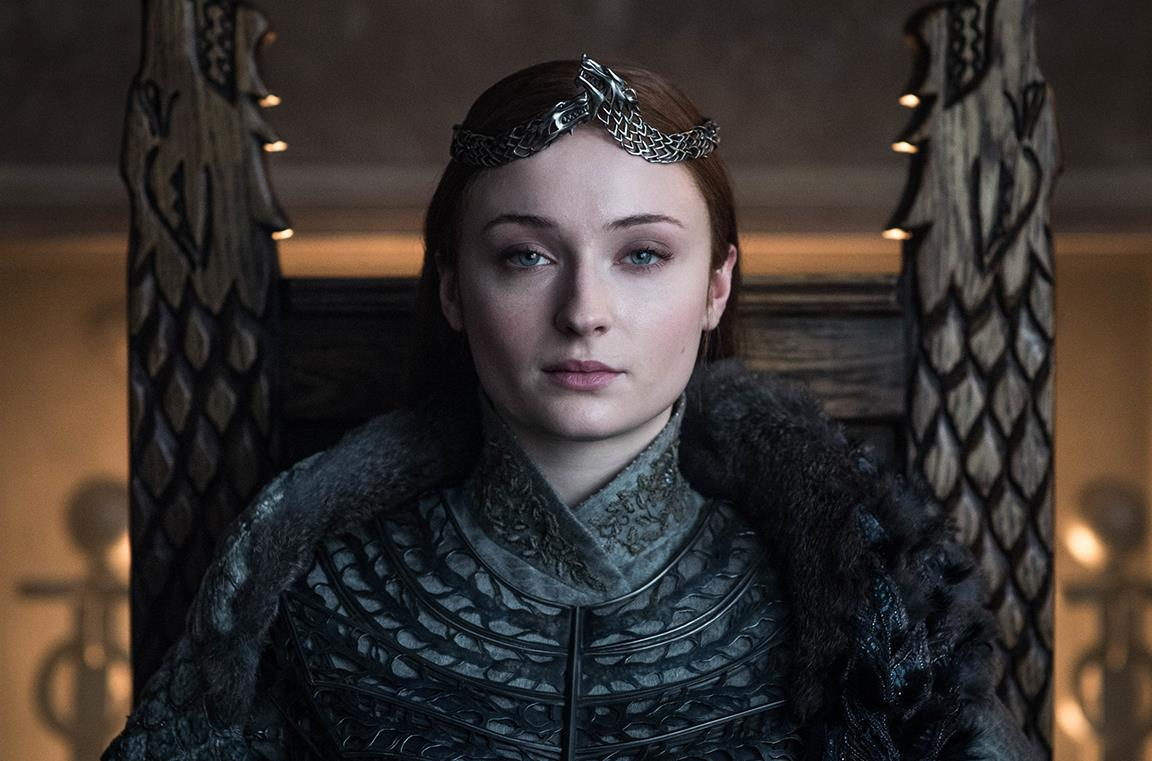 Sansa in Game of Thrones 8