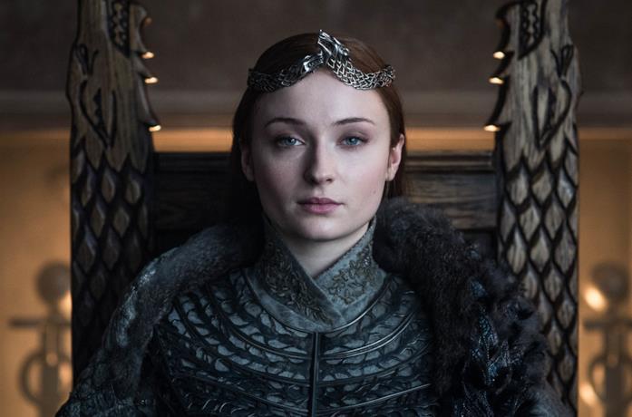 Sansa in Game of Thrones 8