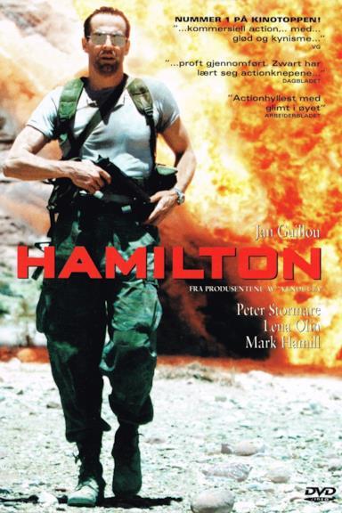 Poster Il comandante Hamilton
