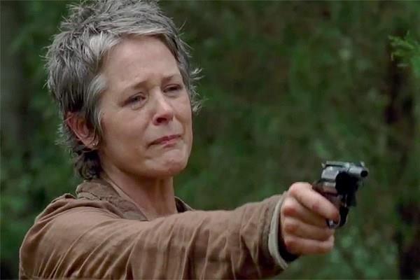 Carol in The Walking Dead 4