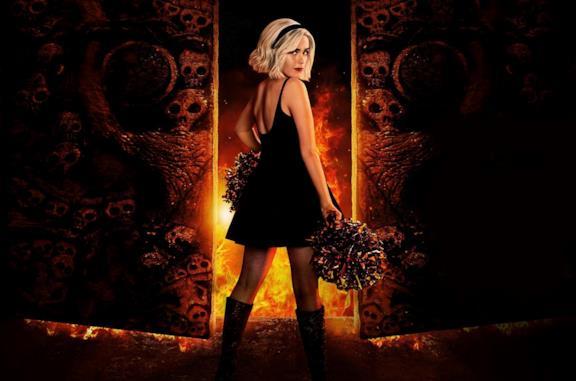 Kiernan Shipka in una foto promozionale de Le terrificanti avventure di Sabrina