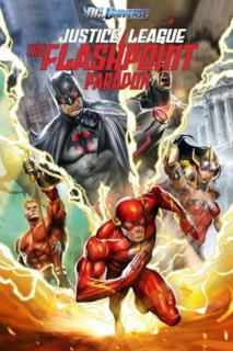 Poster Justice League: The Flashpoint Paradox