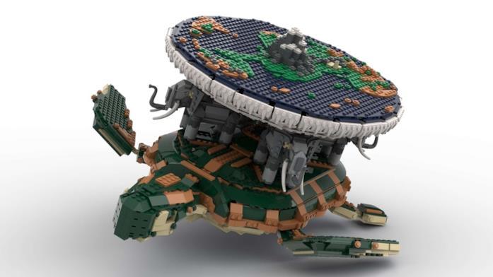 Il mondo disco Lego