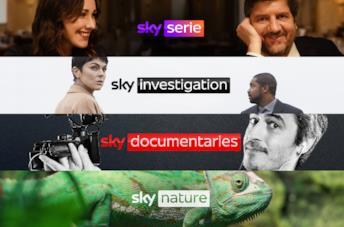 I 4 nuovi canali Sky di luglio 2021