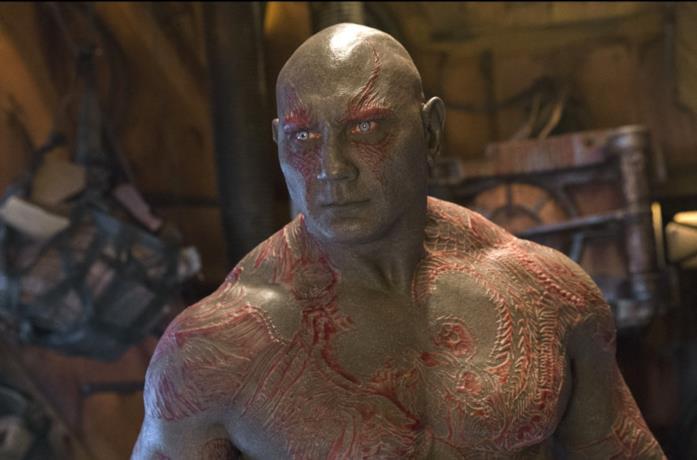 Dave Bautista è Drax