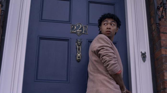 Il 221B ne Gli Irregolari di Baker Street