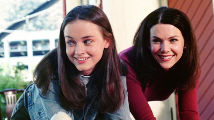 Rory e Lorelai di Una mamma per amica