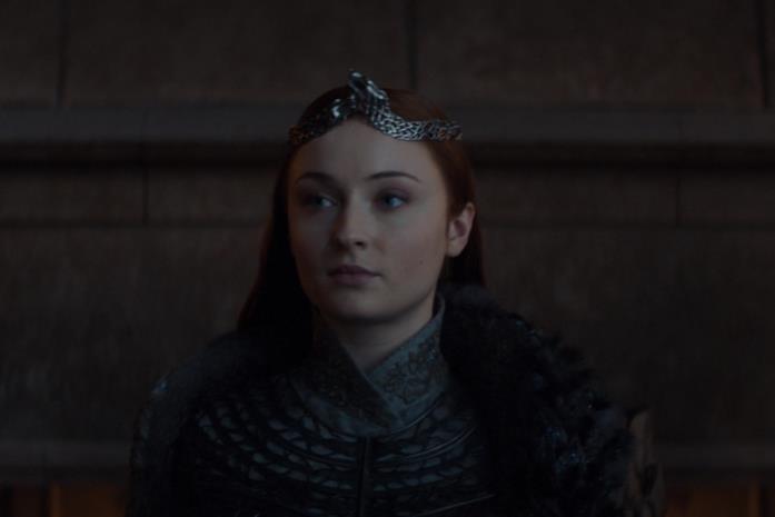 Sansa nel finale di GoT