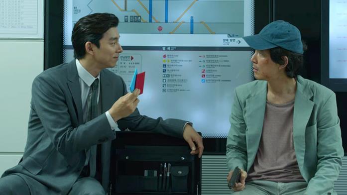Seong Gi-hun viene invitato a giocare a Ddakji