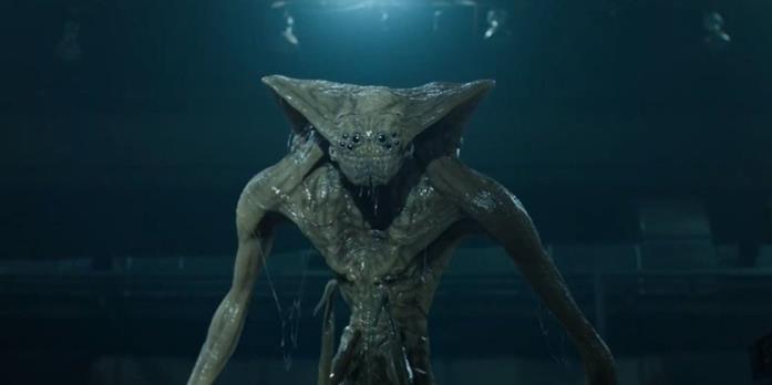 La creatura aliena rientrata sulla Terra