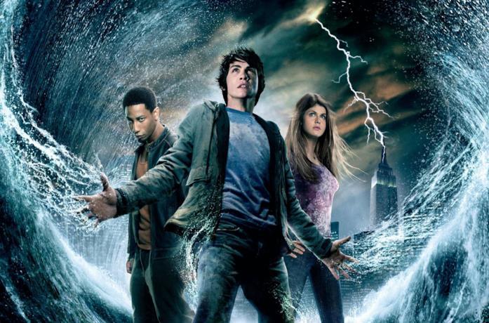 I protagonisti del film Percy Jackson e gli dei dell'Olimpo - Il ladro di fulmini