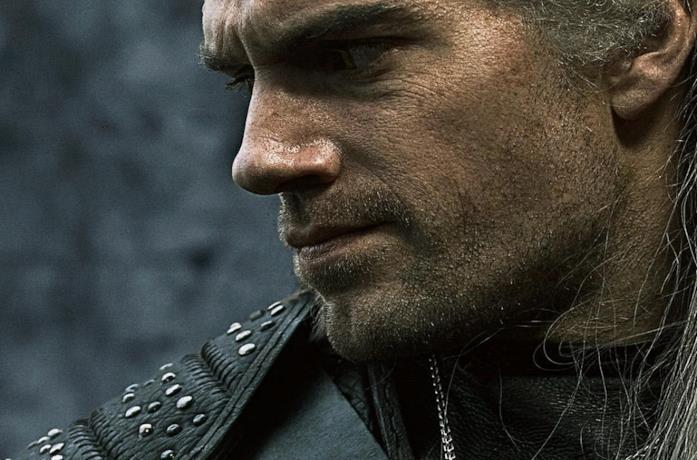 Henry Cavill nella serie TV The Witcher