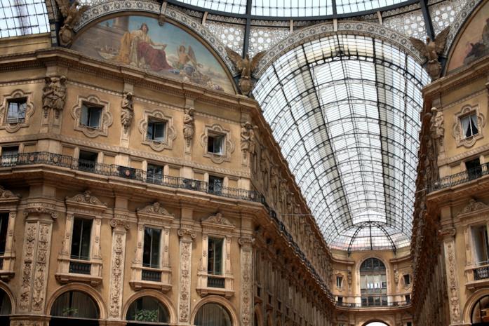 L'iconica Galleria Vittorio Emanuele II di Milano