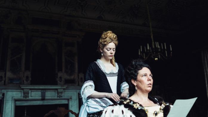 Abigail pettina la regina